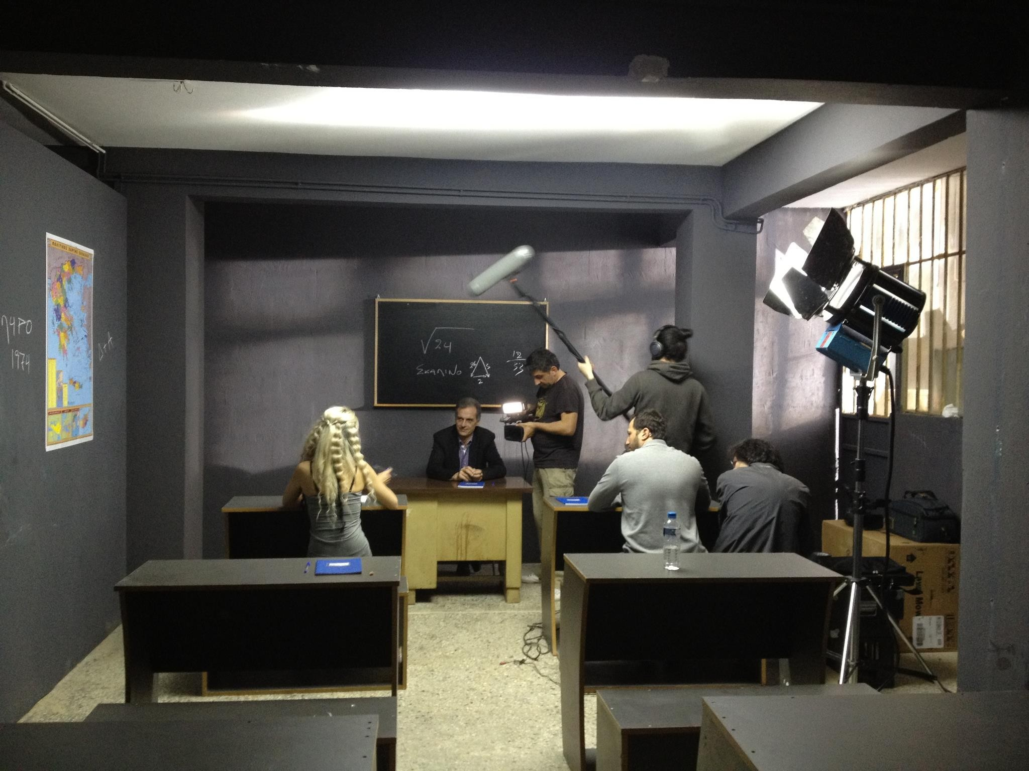 Απίστευτο: Δείτε τη δημοσιογράφο που συμμετέχει στη νέα ταινία του Σειρηνάκη!