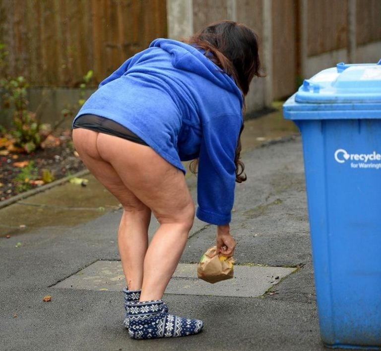 Lisa-Appleton-Ass-taking-out-garbage-Warrington-Kanoni-6-768x706