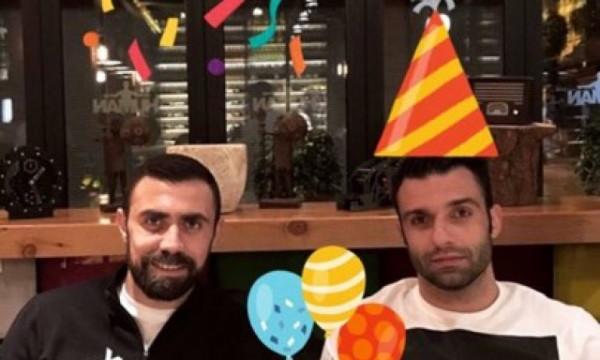 Τα γενέθλια του Τζαβέλλα, η έκπληξη της Πικράκη και οι ευχές του Μανιάτη (pics)