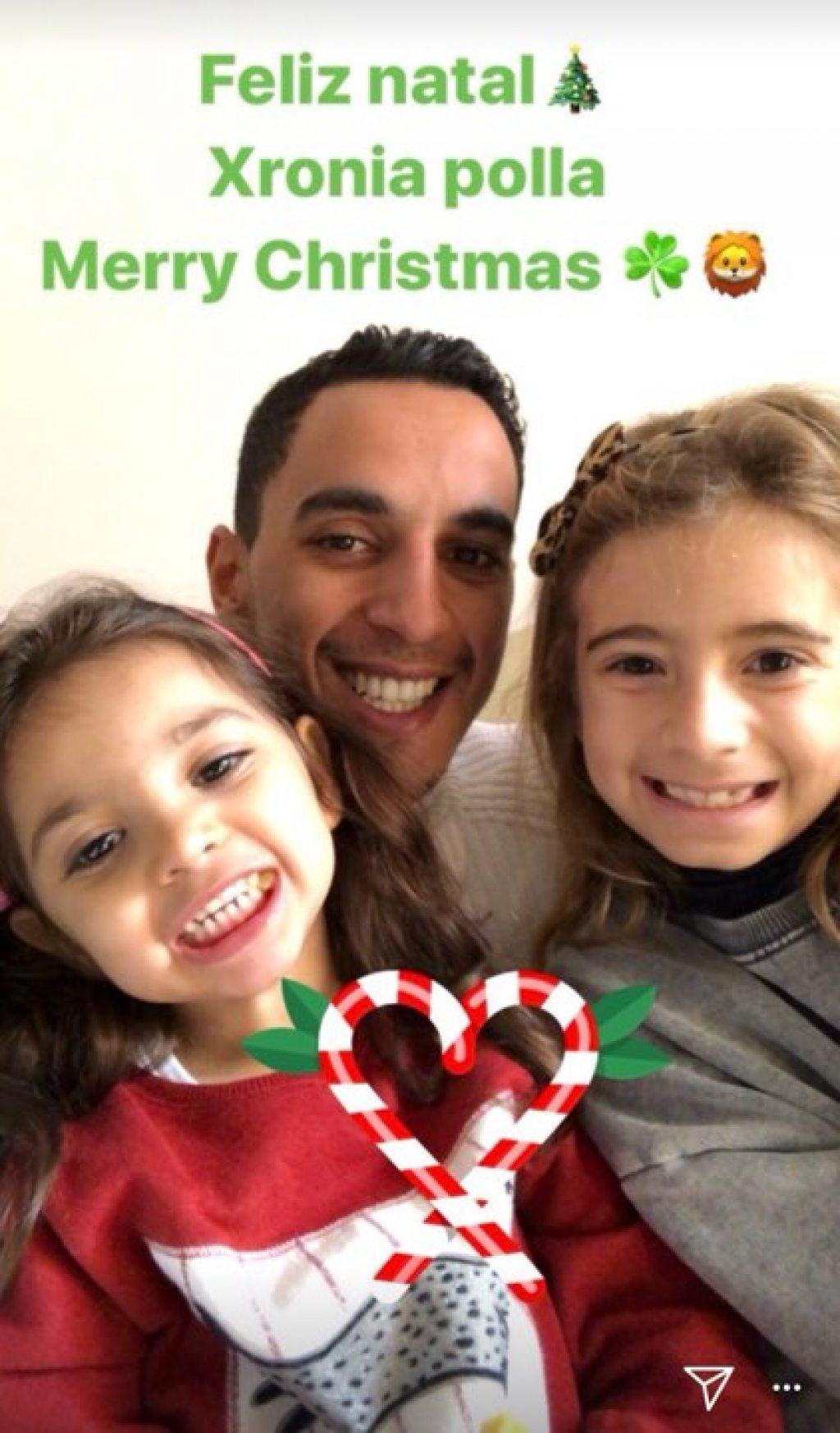 Tα Χριστούγεννα του Ζέκα με τις κόρες του (pic)