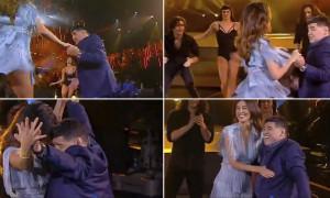 Ο χορός του Μαραντόνα με εντυπωσιακό μοντέλο (vid)