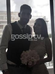 Έλληνας ποδοσφαιριστής της ΑΕΚ μόλις παντρεύτηκε! (pics)