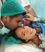 Ο Άλβαρο Μοράτα έγινε μπαμπάς! Οι τρυφερές φωτογραφίες με τα δίδυμα του...