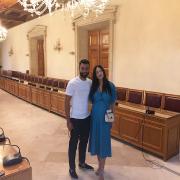 Παντρεύτηκαν Τζαβέλλας -Πικράκη! Οι πρώτες φωτογραφίες από τον πολιτικό γάμο τους