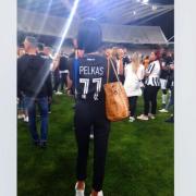Αυτή είναι η γυναίκα που αφιέρωσε το γκολ ο Πέλκας (pics)