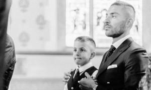 Oι ευχές του Μουνιέ για τα γενέθλια του γιου του (pics)