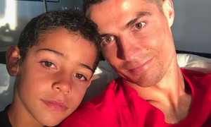 Ρονάλντο: «Είναι δύσκολο ο γιος μου να γίνει καλύτερος από εμένα»