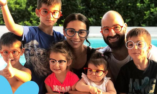 Χοψονίδου-Σπανούλης: Οι τρυφερές φωτογραφίες από τα γενέθλια της κόρης τους