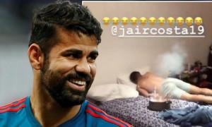 Θα κλάψετε από τα γέλια! Το... εκρηκτικό ξύπνημα του Ντιέγκο Κόστα στον αδερφό του (vid)
