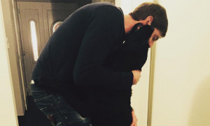 Συγκινητικές εικόνες: Η σκυλίτσα του Σάλα ήταν στο «τελευταίο αντίο»