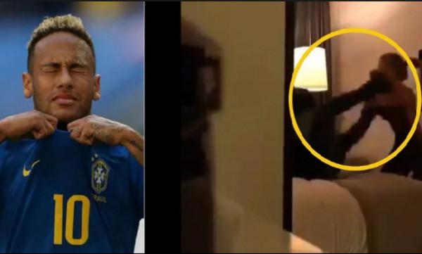 Βίντεο ντοκουμέντο: Ο Νεϊμάρ και η γυναίκα που τον κατήγγειλε για βιασμό στο δωμάτιο του ξενοδοχείου