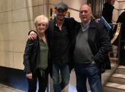 Ο Ντέιβιντ Μπέκαμ με τους γονείς του
