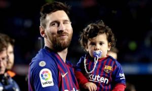 Λιονέλ Μέσι: Ο μικρότερος γιος του «εισέβαλε» στην προπόνηση του και δε φαντάζεστε τι έκανε (vid)