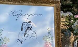 Δείτε πρώτοι φωτογραφίες και βίντεο από το γάμο γνωστού Έλληνα ποδοσφαιριστή