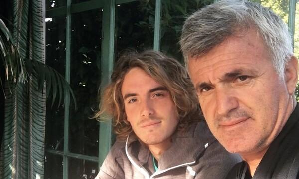 Στέφανος Τσιτσιπάς: Ο χιουμοριστικός τρόπος που ευχήθηκε στον μπαμπά του για τα γενέθλια του (pic)