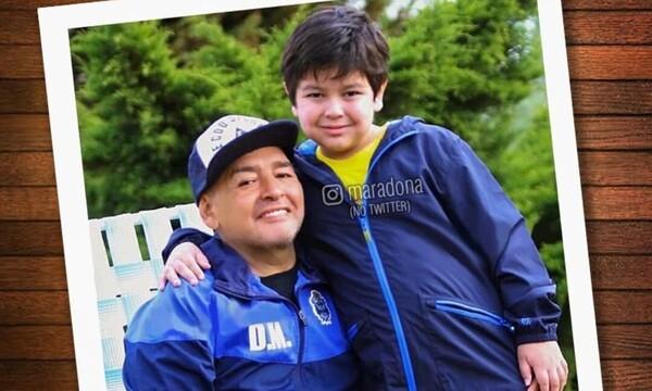 Ντιέγκο Μαραντόνα: Το συγκινητικό μήνυμα στον 7χρονο γιο του λίγες ώρες πριν πεθάνει