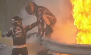 Formula 1: Συγκλονίζει ο Γκροζάν: «Είδα τον θάνατο να έρχεται» (vid&pics)
