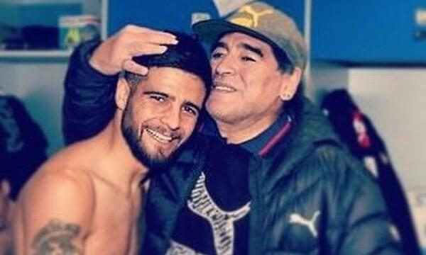 Ινσίνιε: «Χτύπησε» τατουάζ με τον Ντιέγκο Μαραντόνα (vid&pics)