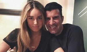 Λουίς Φίγκο: Η καλλονή κόρη του ερωτευμένη με «γαλαζοαίματο» (pics)