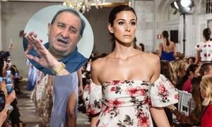 Η καλλονή εγγονή του προέδρου της Ατλέτικο κατακτά τις πασαρέλες (pics)