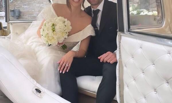 Παντρεύτηκαν υπό άκρα μυστικότητα – Οι πρώτες φωτό από τον παραμυθένιο γάμο τους στη Θεσσαλονίκη