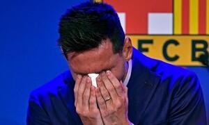 Mέσι: Δημοπρατείται σε σοκαριστική τιμή χαρτομάντηλο που χρησιμοποίησε στο «αντίο» του στην Μπάρτσα